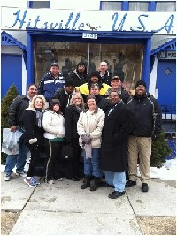 Enon B. C. Mission Detroit 2013 Trip # 1 Showing Love